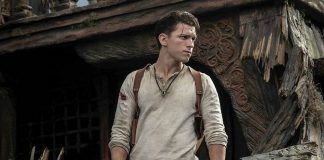Tom Holland in Uncharted